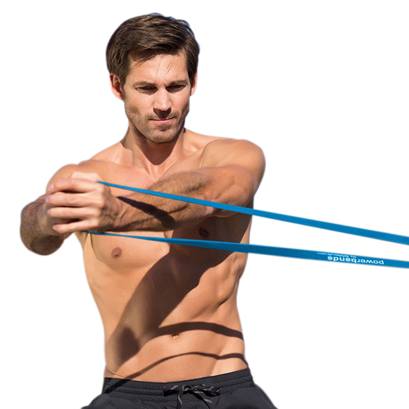 Lets Bands Max Resistance Band - Heavy, Blue