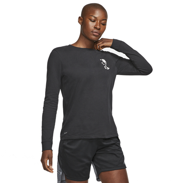 Nike Basketball Women's Dri Fit T-Shirt Black