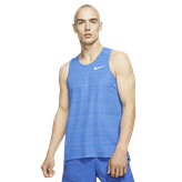 Nike Miler Men's Running Tank Top, Blue