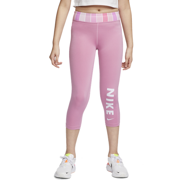 Nike One Girl Tight Capri Magic Flamingo