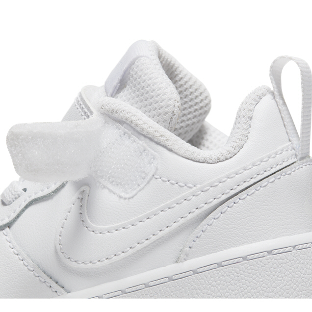 Nike Court Borough Low 2 Infant Kids' Trainer, White