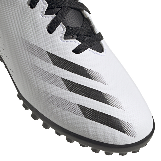 adidas X Ghosted.4 FG Kids' Astro Boot, White