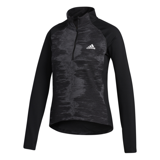 adidas ZNE Aeroready Women's Half Zip Top Black