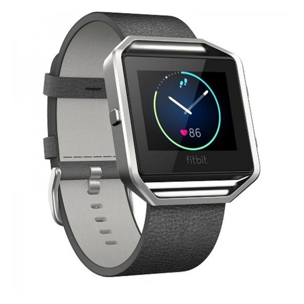 FitBit Blaze™ Leather Band - Large, Black