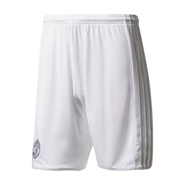 Man Utd Away 17 Shorts White/Grey