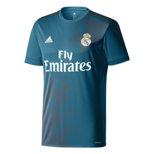 adidas Real Madrid 3rd 17 Kid Jersey Grn