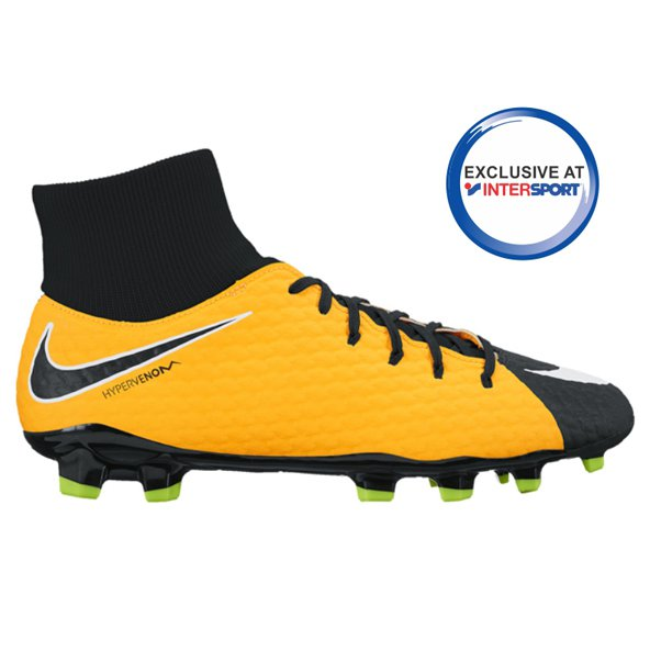 Nike Hypervenom Phelon III DF FG Football Boot, Orange