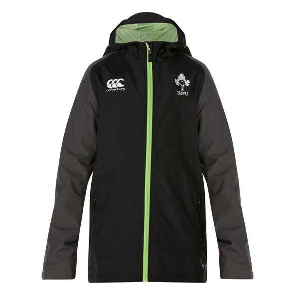 Canterbury IRFU 17 FZ Kids Jacket Black