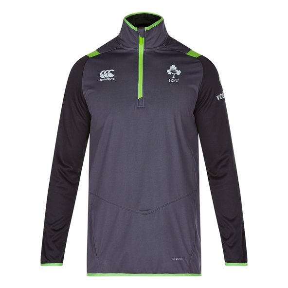 Canterbury IRFU 17 Therm 1/4Zip Top Grey
