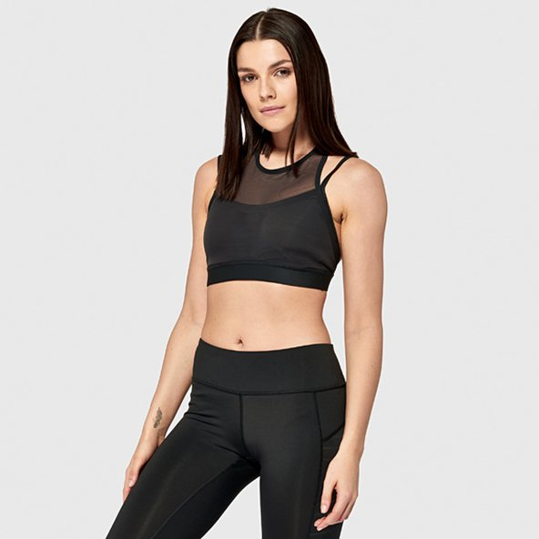 Reebok Hero Strong Sports Bra, Black
