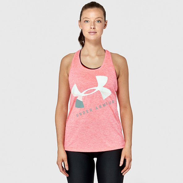 Under Armour Tech Twist Women's Tank Orange