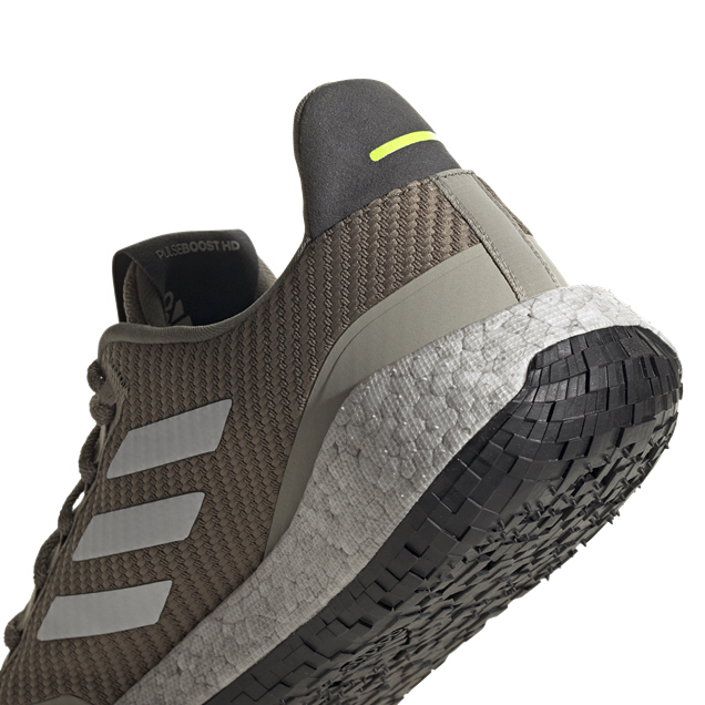 adidas PulseBOOST HD PRCT Running Shoe, Green