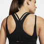 Nike Yoga Strappy Women's Tank Top, Black