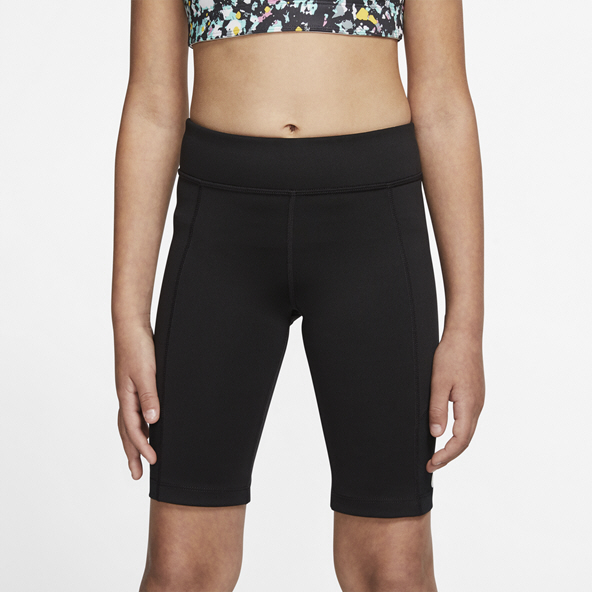 Nike Trophy Bike Girls Shorts Black