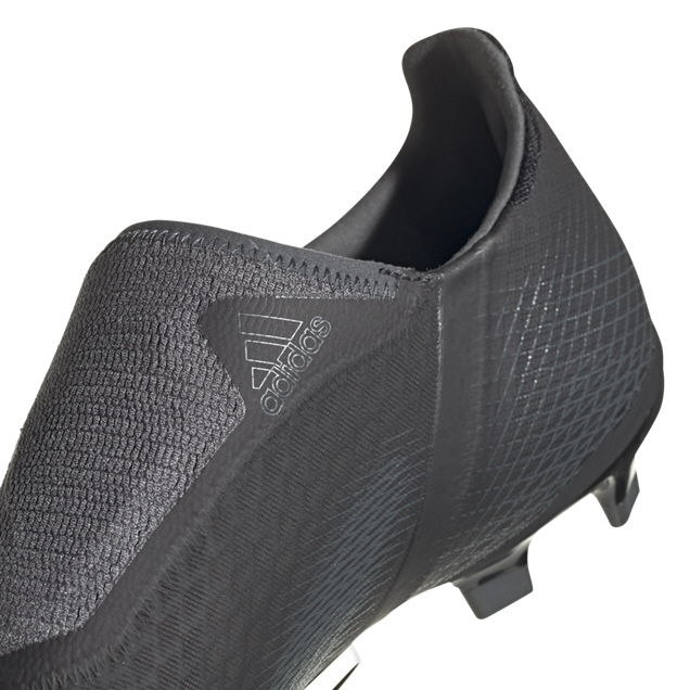adidas X Ghosted.3 FG Laceless Football Boot, Black