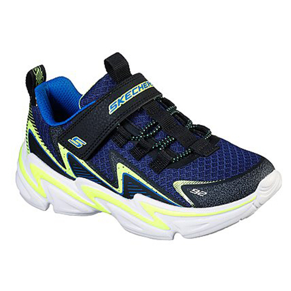 Skechers Wavetronic Junior Boys' Trainer Black/Navy