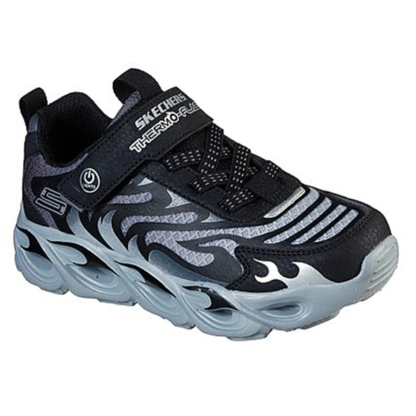 Skechers Thermo-Flash Boys' Trainer Black