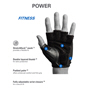 Harbinger Men's Power Glove Black