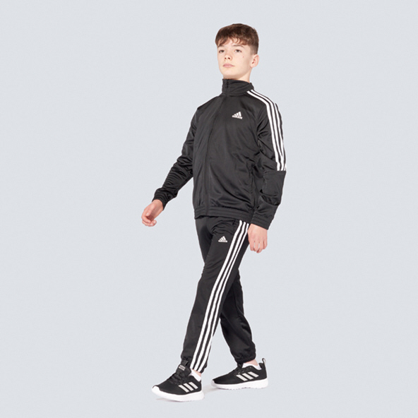Adidas Tiro Boys Track Suit Black/White