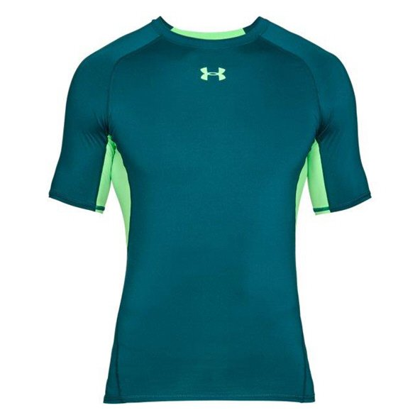 Underarmour HeatGear® Armour Short Sleeve  Top Teal
