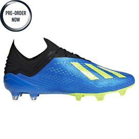 adidas X 18.1 FG Football Boot, Blue