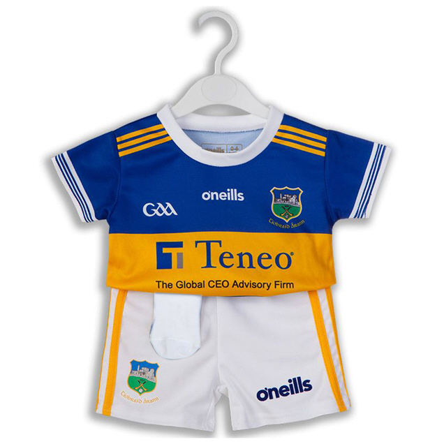 O'Neills Tipperary 2019 Kids' Home Kit, Blue