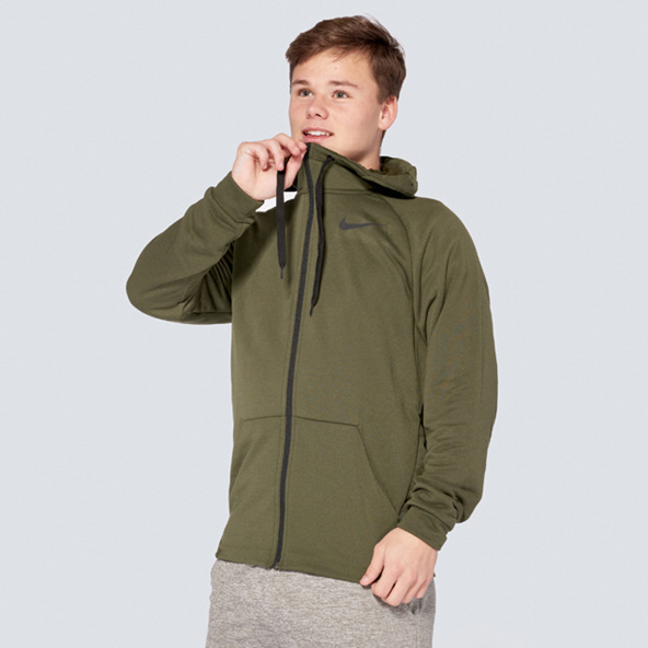 Nike Therma Full Zip Men's Hoody Cargo Khaki
