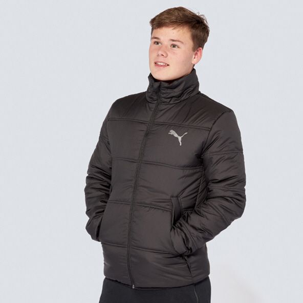 Puma ESS Padded Jacket Mens Black