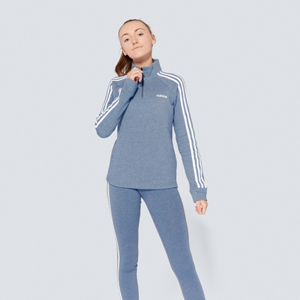 adidas ¼-Zip Fleece Women's Tracktop, Ink