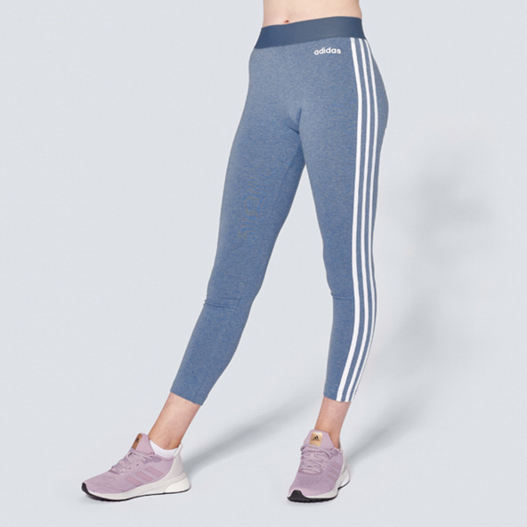 adidas Essentials 3 Stripe Women's Tight, Ink Blue