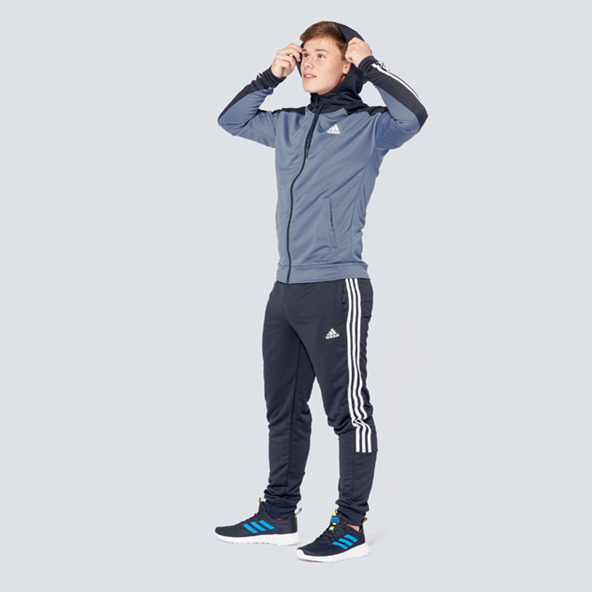 adidas MTS Game Time Tracksuit, Navy