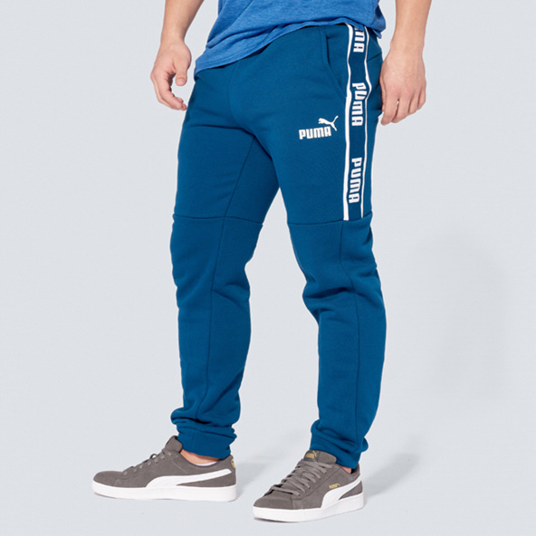 Puma Amplified Fleece Men's Pant, Blue