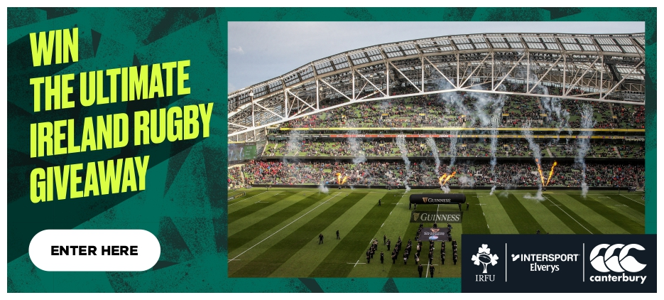 WIN! THE ULTIMATE IRELAND RUGBY GIVEAWAY