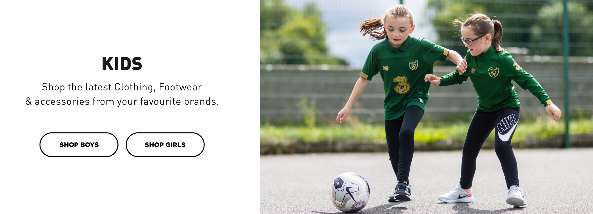 Shop Kids Clothing, Footwear and Accessories
