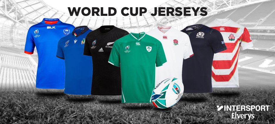 WORLD CUP JERSEYS AT INTERSPORT ELVERYS