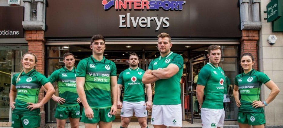 INTERSPORT ELVERYS: OFFICIAL SPORTS RETAILER TO THE IRFU AND IRELAND 7S SPONSOR