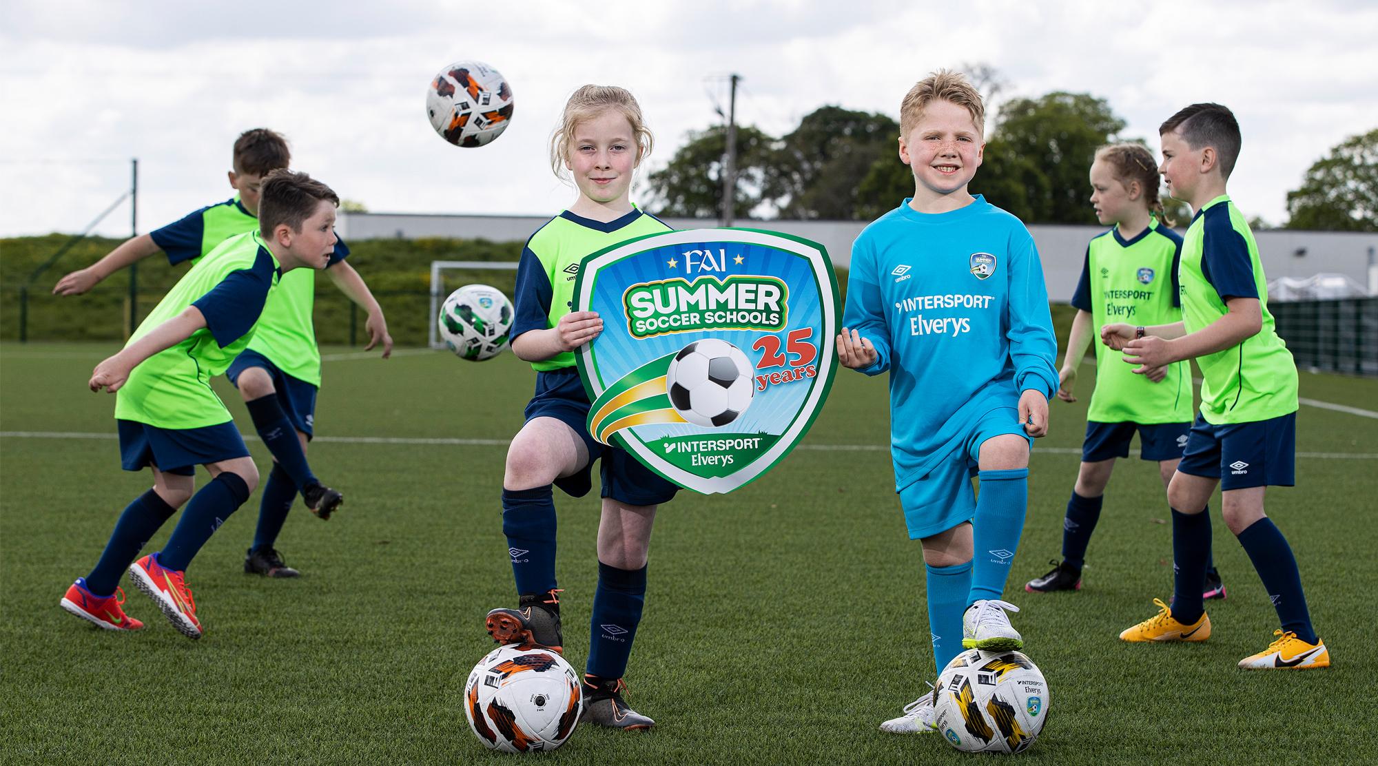 Intersport Elverys -Summer Soccer Schools