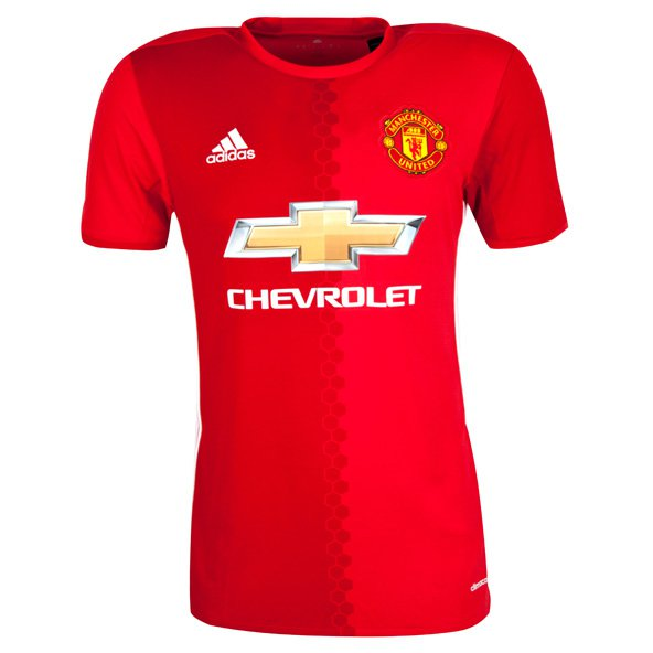 adidas Man United 2016/17 Home Jersey, Red