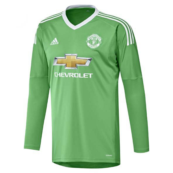 adidas Man United 2017/18 Away GK Jersey, Green