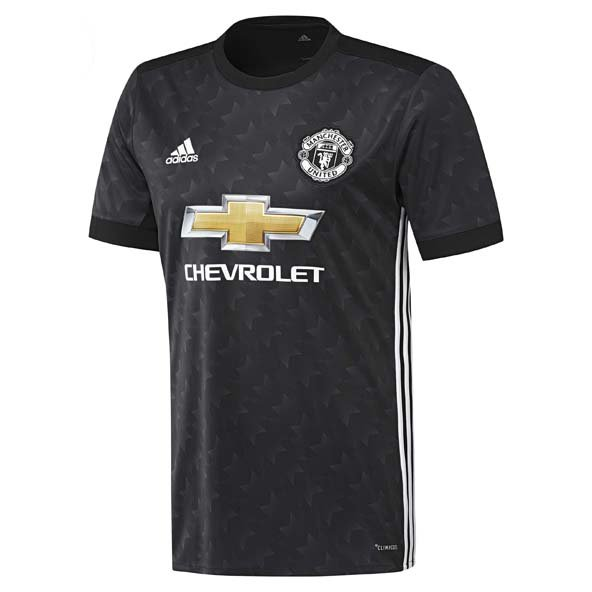 adidas Man United 2017/18 Away Jersey, Black