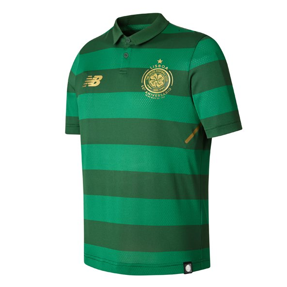 New Balance Celtic 2017/18 Kids' Away Jersey, Green