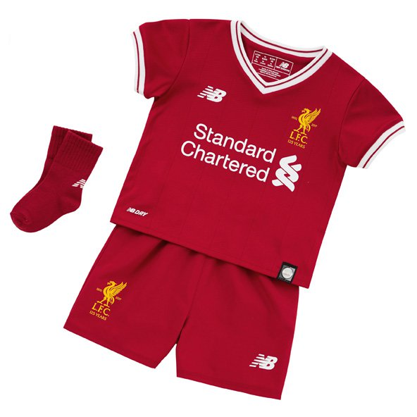 New Balance Liverpool 2017/18 Baby Kit, Red