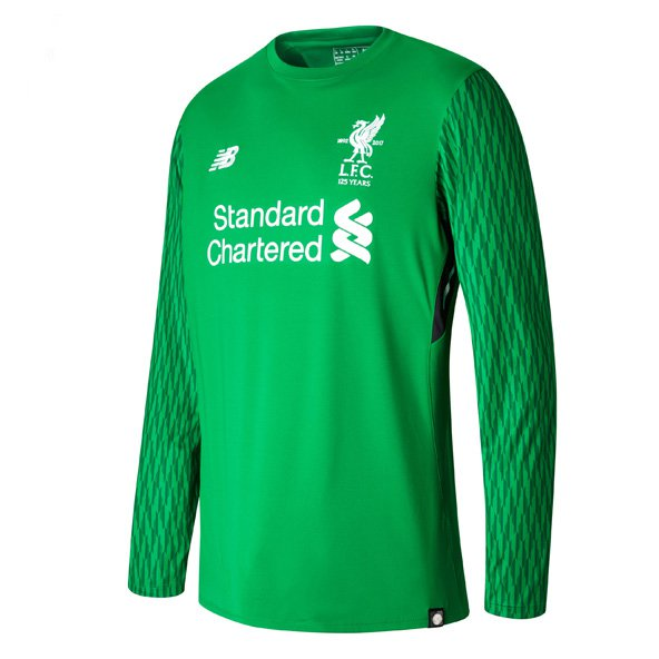 NB Liverpool 2017/18 Home Goalkeeper Jersey, Green