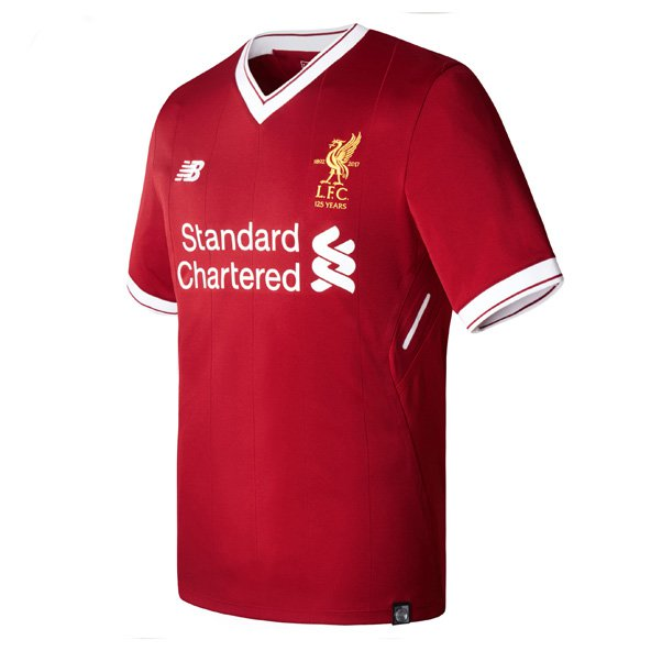 New Balance Liverpool 2017/18 Home Jersey, Red