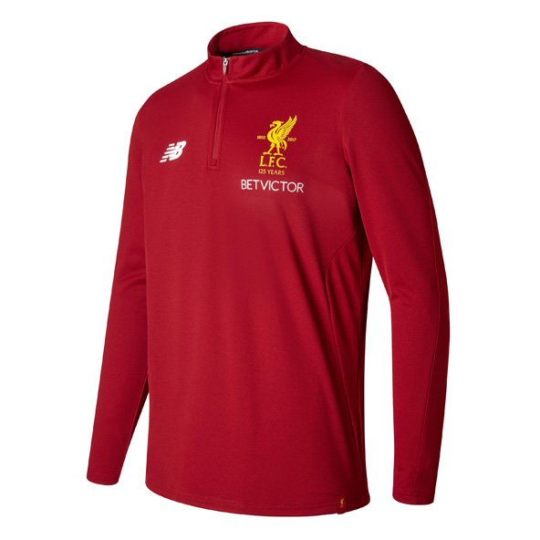 NB Liverpool Training 17 Sweat Red