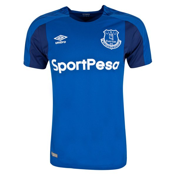 Umbro Everton 2017/18 Home Jersey, Blue